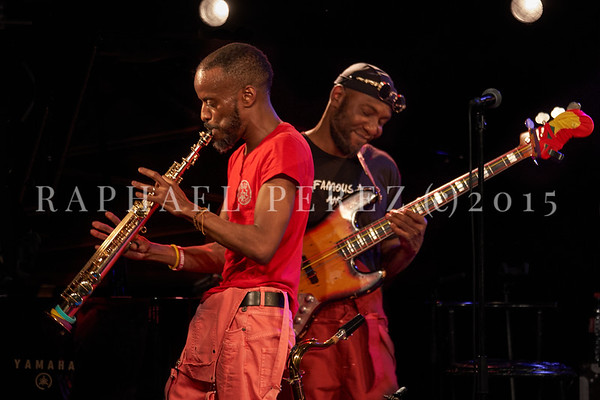 Jowee Omicil & Friends show in Paris, New Morning, october 2020.