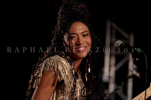 Judith Hill show in Paris New Morning. November 2019