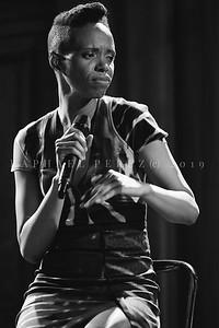 Kellylee Evans show in Paris during Jazz à Saint Germain Festival, 2019