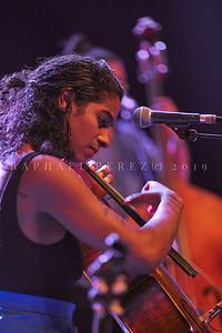 Leyla McCalla show. March 2019