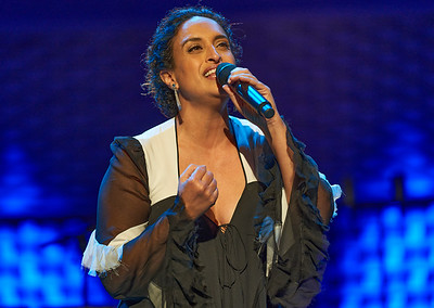 Achinoam Nini know as Noa was master of ceremony for the closing concert of the France-Israel 2018 cultural season on November 2018 in La Seine Musicale, Boulogne near Paris. Supported by her band with Gil Dor (guitar), Or Lubianiker (bass) and Gadi Seri (drums) with Gil Dor as music director.
