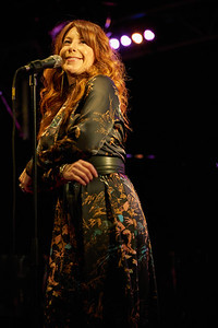 """Robin McKelle concert on May 2018 in New Morning Paris, presentating her 8th album """"Melodic Canvas""""."""