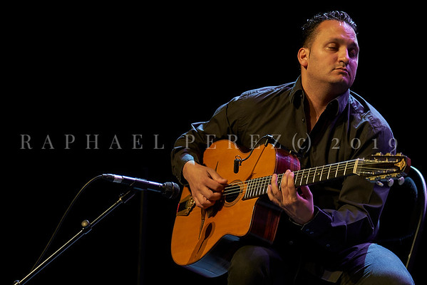 Stochelo Rosenberg Trio show in Paris. April 2019 Guitar Moses Rosenberg