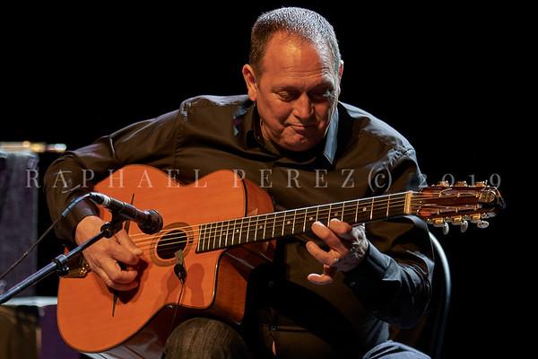 Stochelo Rosenberg Trio show in Paris. April 2019. Lead Guitar Stochelo Rosenberg