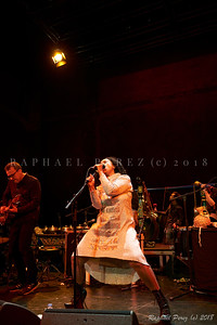 Susheela Raman. October 2018