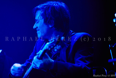 Thomas Dutronc and his Gipsy Jazz band. November 2018
