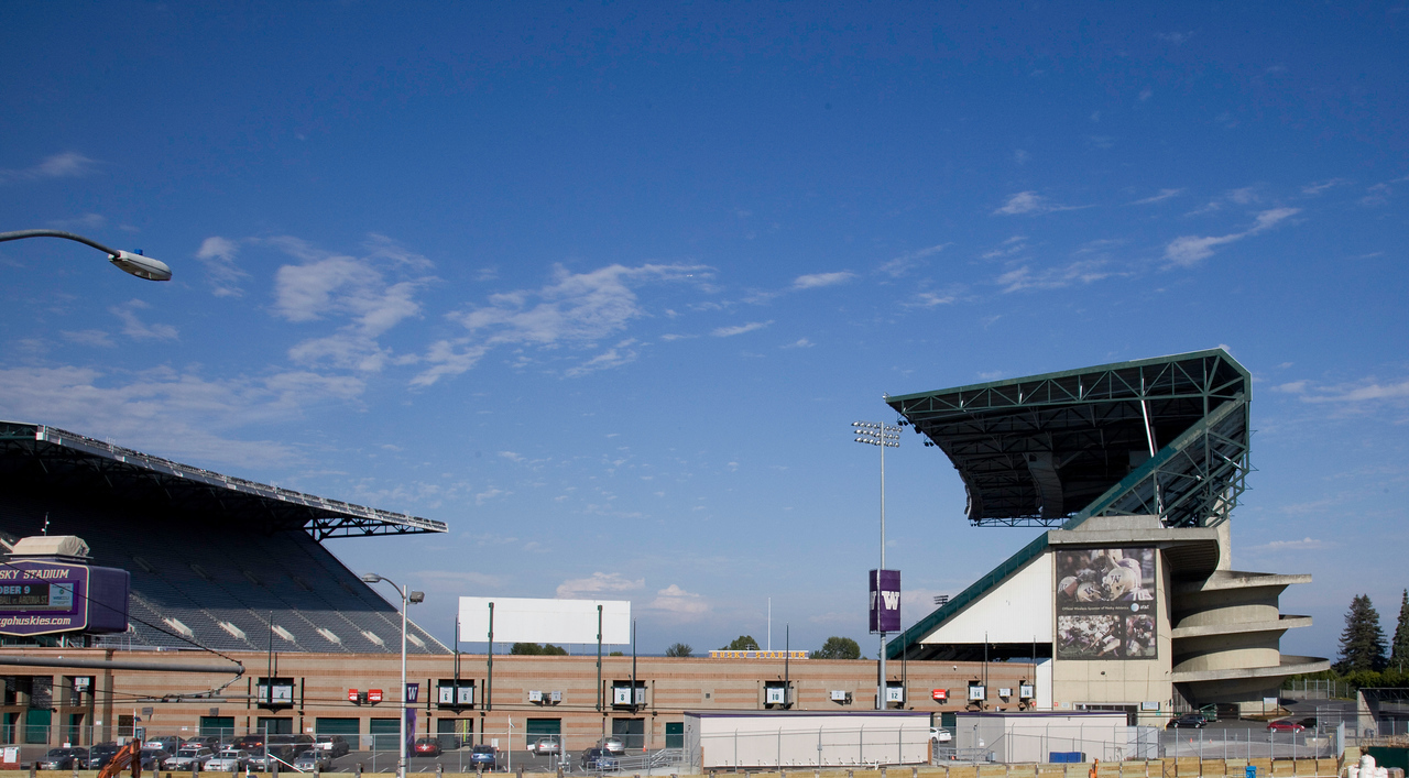 The stadium as it was in June, 2010.