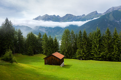 After the storm / Tobadill, Austria