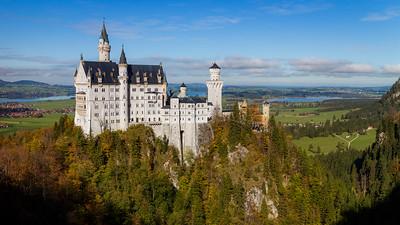Neuschwanstein castle / Hohenschwangau, Germany