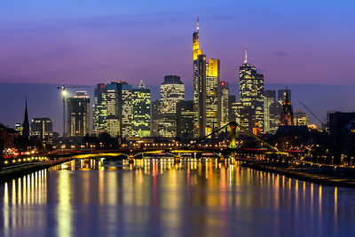 Bank city / Frankfurt am Main, Germany
