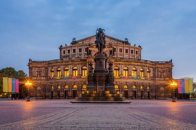 Semperoper / Dresden, Germany