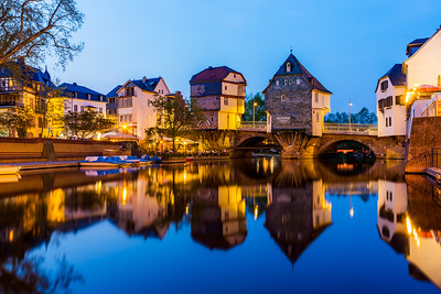 Bridge houses / Bad Kreuznach, Germany