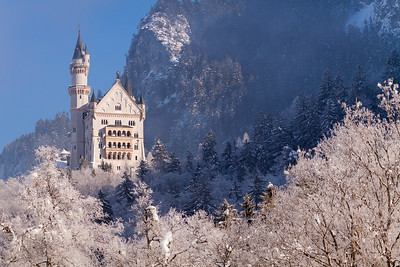 Winter fairytale / Hohenschangau, Germany
