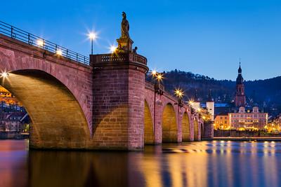 Karl Theodor Bridge / Heidelberg, Germany