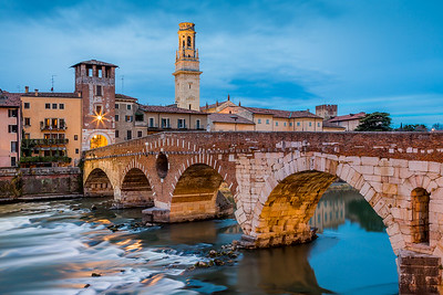 Ponte di Pietra / Verona, Italy