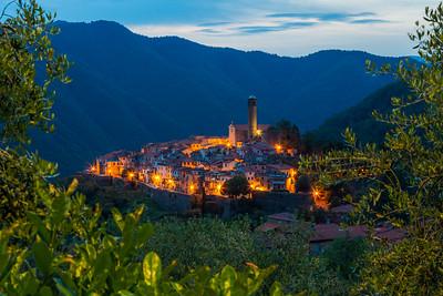 Tuscany village / Caprigliola, Italy