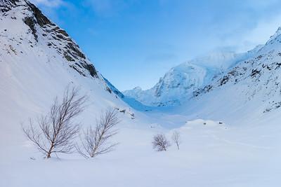 Cold blue / Val d'Anniviers, Switzerland