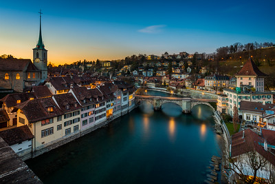 Nydegg bridge / Bern, Switzerland