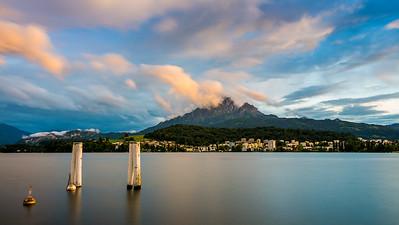 Seeburg jetty / Luzern, Switzerland