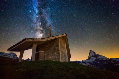 Valais milky way / Zermatt, Switzerland