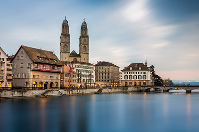 Limmat river / Zürich, Switzerland