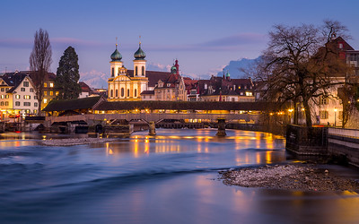 Spreuerbrücke / Lucerne, Switzerland