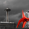 Space Needle from Olympic Sculpture Park