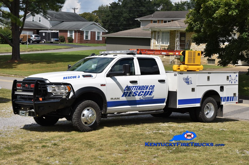 Crittenden County Rescue Squad Rescue 3<br /> 2020 Dodge Ram 3500 4x4/CM Truck Bodies<br /> Greg Stapleton photo