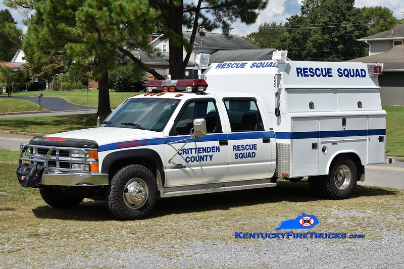 Crittenden County Rescue Squad Rescue 2<br /> 1997 Chevy 2500/Reading<br /> Greg Stapleton photo