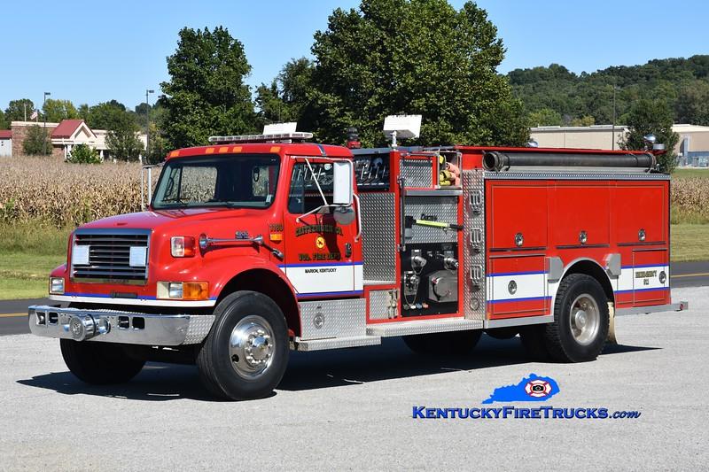 Crittenden County Engine 1180<br /> 1996 International 4900/Central States 1250/1000<br /> Greg Stapleton