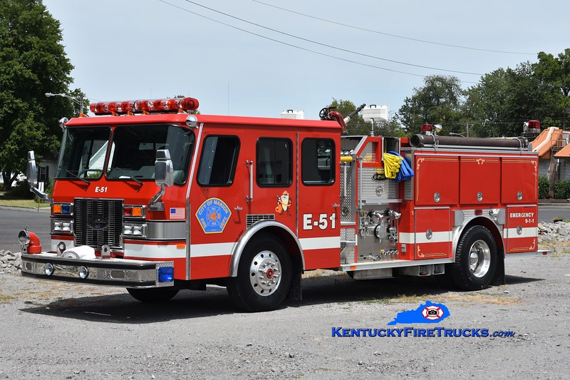 Marion  Engine 51<br /> x-Aroma, IL<br /> 1992 E-One Protector TC 1500/750<br /> Greg Stapleton photo