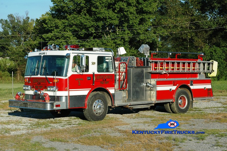 <center> Dover  Engine 1  <br> x-Bellmore, NY & Dover, KY <br> 1986 Duplex D-350/Young Crusader II 1250/750 <br> Greg Stapleton photo </center>