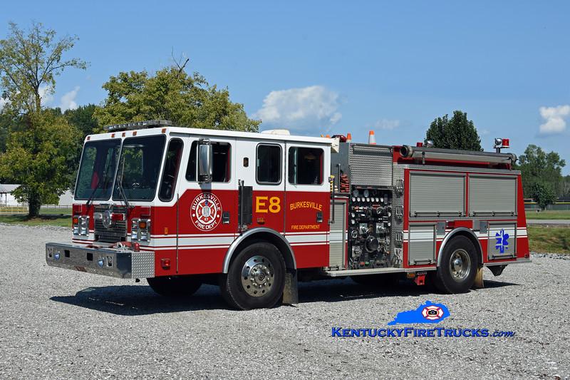 Burkesville  Engine 8<br /> x-Eastwood, KY<br /> 1995 KME Renegade 1250/750<br /> Kent Parrish photo