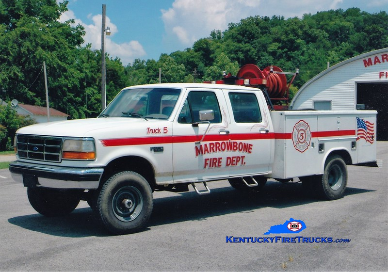 Marrowbone  Truck 5<br /> 1993 Ford F-350 4x4/Reading 250/250<br /> Greg Stapleton photo