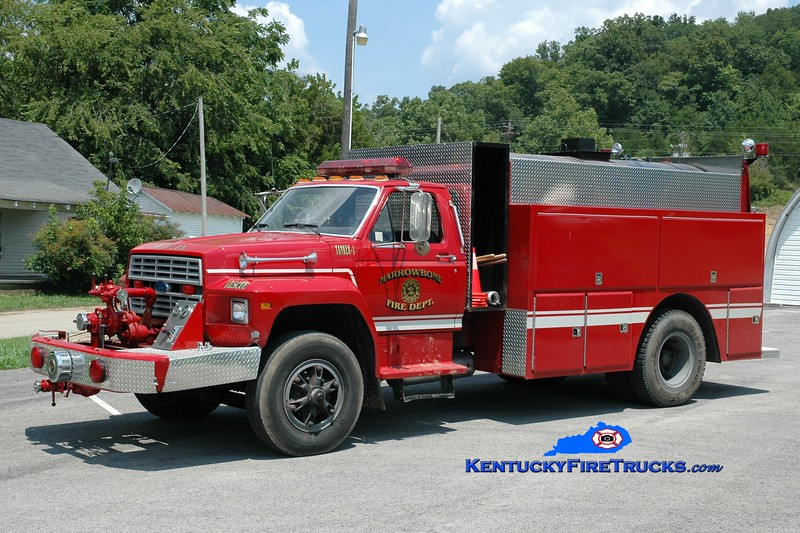<center> Marrowbone  Tanker 1  <br> 1984 Ford/Local 500/2000 <br> Greg Stapleton photo </center>