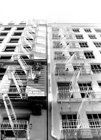 Fire Escapes - San Francisco - 1994