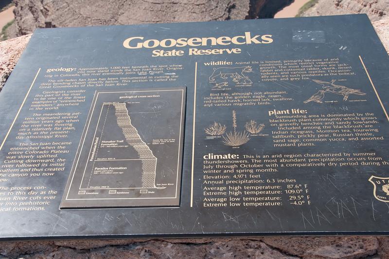 Goosenecks State Park