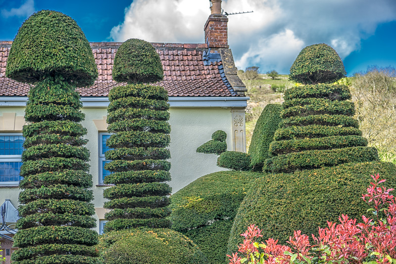 Topiary in Cross village
