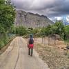 Walking from Pomieri to Isnello