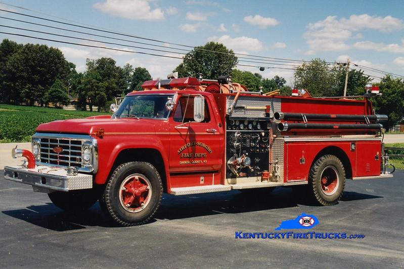 <center> RETIRED <br> Airport Sorgho  Engine 202 <br> 1974 Ford F-800/Pierce 750/750 <br> Greg Stapleton photo <br> </center>