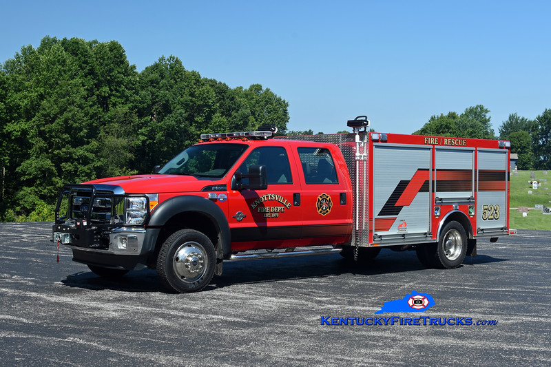 Knottsville  Rescue 523<br /> 2015 Ford F-550 4x4/Southeast<br /> Kent Parrish photo