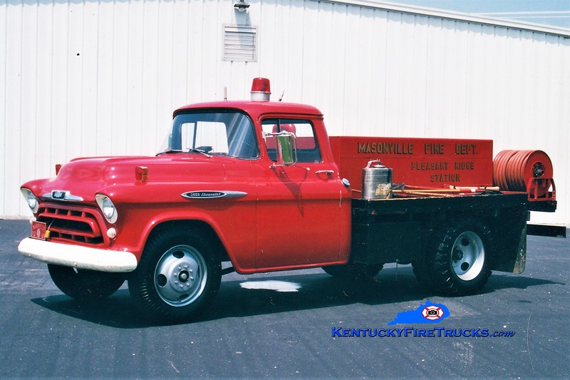 RETIRED<br /> Masonville Brush 604<br /> 1957 Chevy/FD 125/250<br /> Greg Stapleton photo