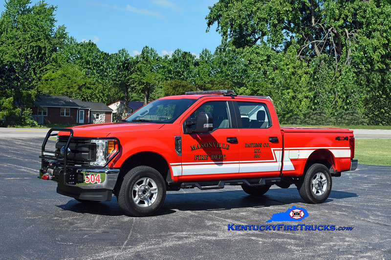 Masonville Unit 504<br /> 2017 Ford F-250 4x4<br /> Kent Parrish photo