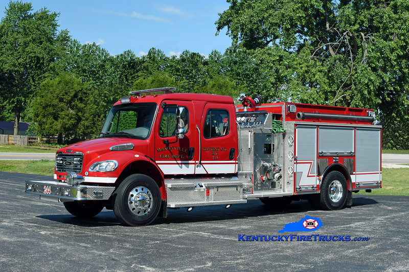 Masonville Engine 244<br /> 2019 Freightliner M2-106/Pierce 1250/1000/30<br /> Kent Parrish photo
