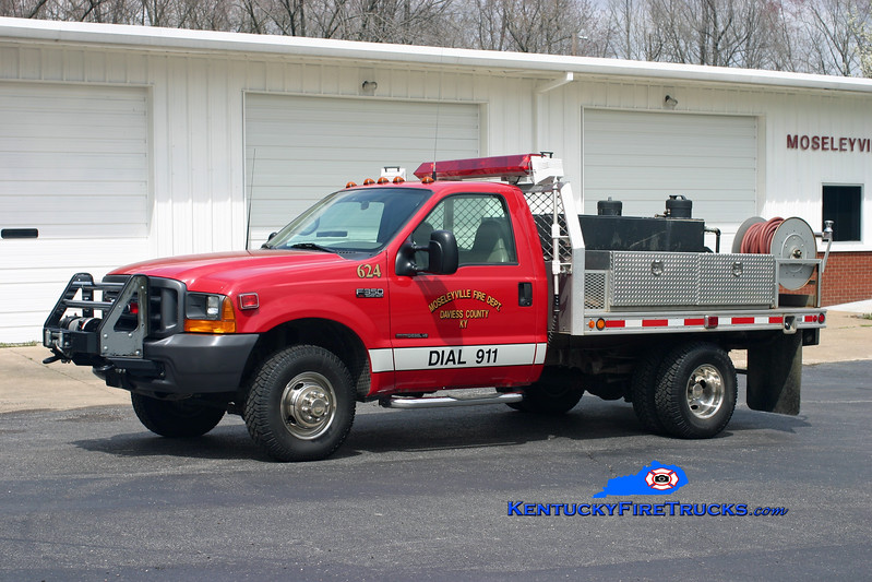 Mosleyville  Brush 624<br /> 2000 Ford F-350 4x4/Fouts Bros 250/250<br /> Kent Parrish photo