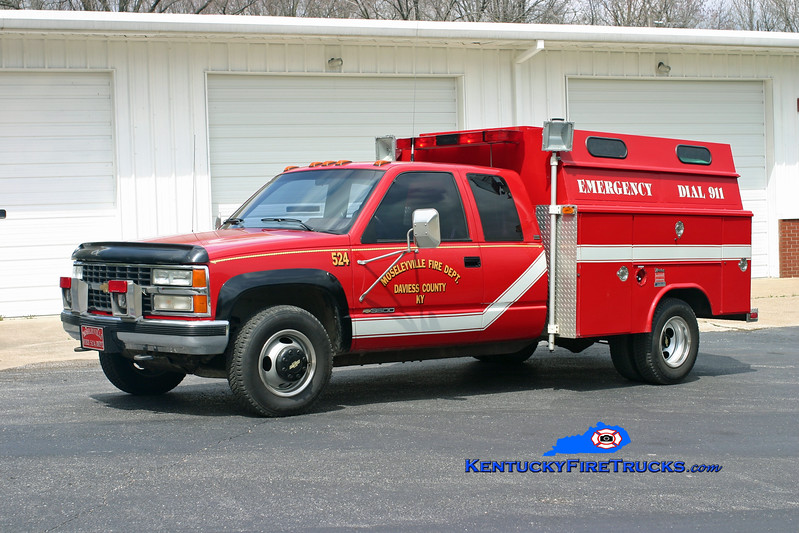 Moselyville  Rescue 524<br /> 1991 Chevy 3500 4x4/Reading-Manning<br /> Kent Parrish photo