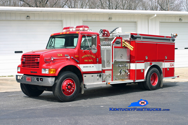 Mosleyville  Engine 324<br /> 1997 International 4900/E-One 1250/1000<br /> Kent Parrish photo