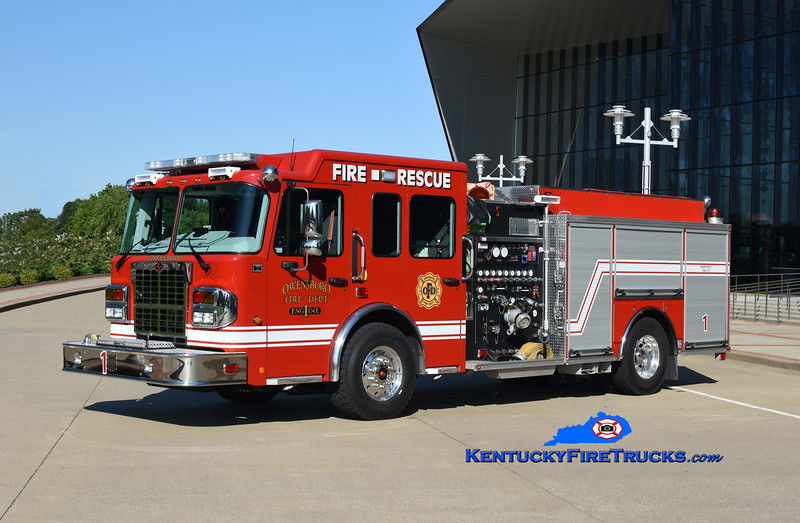 Owensboro Engine 1<br /> 2020 Spartan Metro Star ER 1500/750/20<br /> Kent Parrish photo