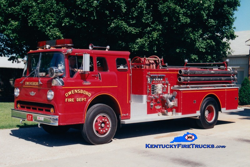 <center> RETIRED <br> Owensboro  Engine 104 <br> 1968 Ford C-850/American 1000/300 <br> Greg Stapleton photo <br> </center>
