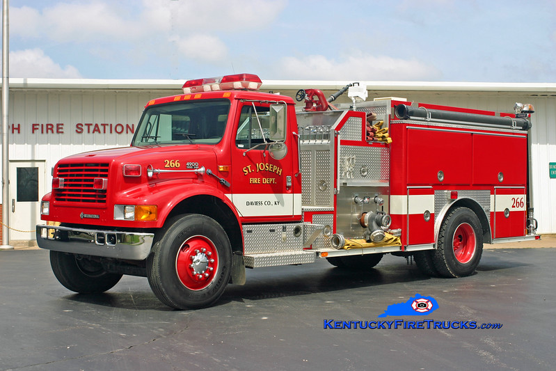 St. Joseph  Engine 266<br /> 1997 International 4900/E-One 1250/1000<br /> Kent Parrish photo
